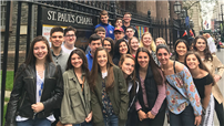 World History Students Visit Memorial photo