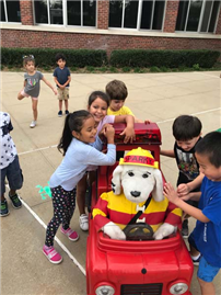 Kids Get a First-Hand Lesson in Fire Safety photo 4