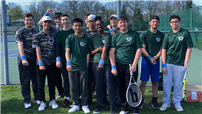 Varsity Boys Tennis Scoring Aces photo  thumbnail118561